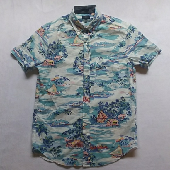 J. Crew Other - J. CREW men's tropical button up